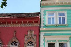 #Windows on main street, Kosice, #Slovakia