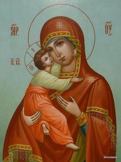 """""""Владимирская"""" икона Божией Матери уже несколько столетий почитается как чудотворная.  Перед ней молитвенно просят Богородицу об исцелении от телесных недугов"""