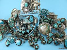 yourgreatfinds- a pile of turquoise love!!!!