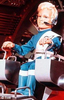 Alan Tracy at the helm of Thunderbird 3.
