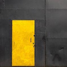 yellow door black exterior