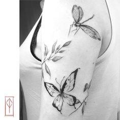 @patrizia_pozo #tattoo #sketchtattoo #tattoomadrid