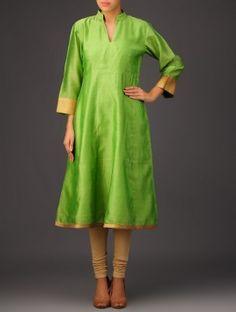 Simple and elegant Daily Wear, Kurti, Designer Dresses, Ethnic, Dress Up, Indian, Dress Designs, Summer Dresses, Detail