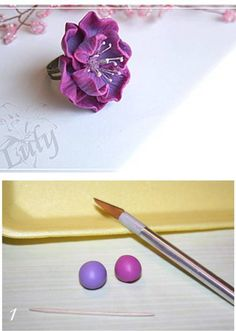 How to Make Gorgeous Polymer Flower With Clay