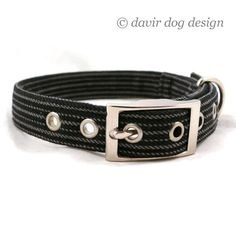 Is your dog a gentleman / Black and gray striped by davir on Etsy
