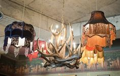 The Cosy Club...love mix of lighting