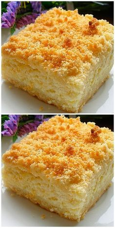Delicious Cake Recipes, Sweets Recipes, Yummy Cakes, Just Desserts, Baking Recipes, Cookie Recipes, Yummy Food, Russian Desserts, Russian Recipes
