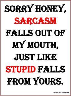 Yes I agree!