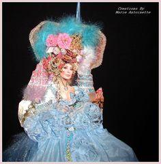 Marie Antoinette Paper Doll.....CSST di marieantionette su Etsy