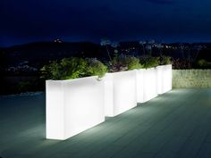 Image result for illuminated planters