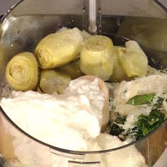 Katie Lee's Hot Spinach and Artichoke Dip on Rachael Ray show.