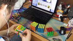 2x2 - 7x7 Rubik's Cube World Record : 6:23.81