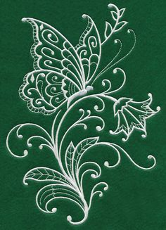 Grand Sewing Embroidery Designs At Home Ideas. Beauteous Finished Sewing Embroidery Designs At Home Ideas. Machine Embroidery Patterns, Hand Embroidery Designs, Embroidery Thread, Embroidery Applique, Butterfly Embroidery, Learning To Embroider, Silk Ribbon Embroidery, Fabric Painting, Butterflies