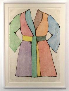 Jim Dine, The Woodcut Bathrobe, 1975
