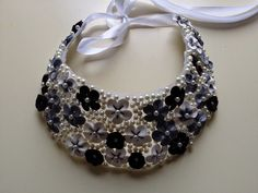 Colier Flowers, Handmade, Jewelry, Fashion, Fimo, Moda, Hand Made, Jewlery, Bijoux