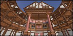 Globe Theatre done in Roblox