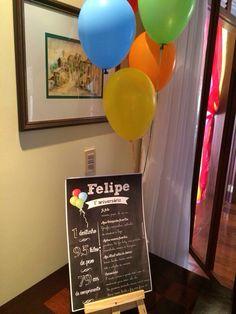 Festa balão Felipe 1