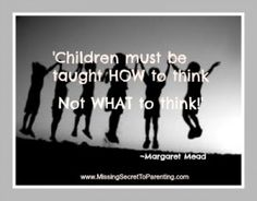 How to Make Positive Thinking a Habit in Your Child's Life!  http://missingsecrettoparenting.com/positive-thinking-habit-childs-life