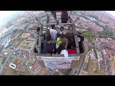 Grupo de vuelo en globo en Merida