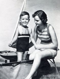 1930's Mommy & Me Knit Bathing Suit Patterns