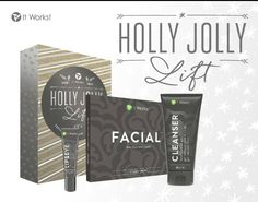 Have a Holly Jolly Facelift :)  Better than Botox!  Botanically based skin care line to take YEARS OFF of your age.  Have questions? Ask me! 573.747.9213  Ready to order? Visit here:  www.BakerBodyWraps.com Delivers in 5-7 days!