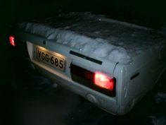 Lada 2107 3-40 1995 snow spoiler lol