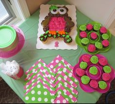Pink Owl Cupcakes My Cakes Quot Sweetweets Quot Pinterest