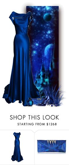 """""""Para trás IV 3/5 - azul"""" by sil-engler ❤ liked on Polyvore featuring Maison Du Posh, Sergio Rossi and Christian Dior"""