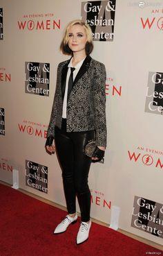 """Evan Rachel Wood lors de la soirée """"An Evening With Women"""" à l'hôtel Beverly Hilton à Beverly Hills. Le 10 mai 2014."""