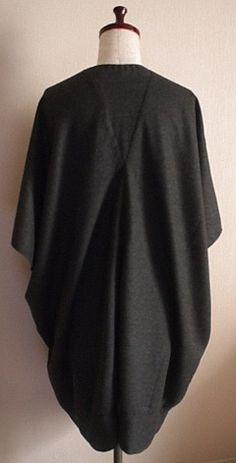 Drape drape 1 no.15 loose drape tunic blouse