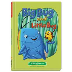 Big Bug and Little Bug - Hardcover book from ABCmouse.com. 4 years & up, 28 pages.  Introduce children to words in the –ug word family with Big Bug and Little Bug. When the little bug falls into a hole, the big bug is there to save the day! An endearing tale about friendship, this hardcover book from ABCmouse.com features a rhyming story to help children learn letter-sound correspondence and also includes several important sight words, such as little, help, and me.