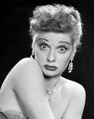 Lucille Ball...the Iconic Hilarious Red Head of all times!
