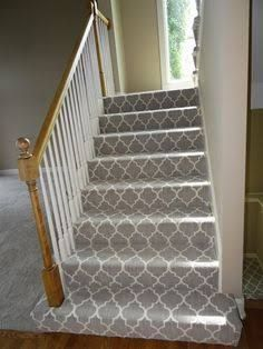 Carpeted staircase image (236×314)