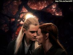 "(Part 26) [Lothuialeth in place of Tauriel] [Later that day] I was in my room, on my bed just thinking. But, the more I thought about it the more I started to cry. Legolas came into my room. He sat down next to me, and he was shocked to see me, crying. ""What's wrong?"" He asked, worried. ""Nothing."" I said, wiping my tears. ""Tell me."" He said. ""I saw what happened, with Eleniel."" I said. He had a guilty look, on his face. ""I thought you 'Loved' me."" I said. ""I do."" He said,  and then he kissed…"