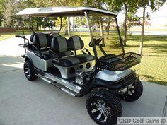 Golf Cart Limo Kit | ... 2008 Club Car Precedent 6 passenger Limo cart - CKDgolfcarts.com