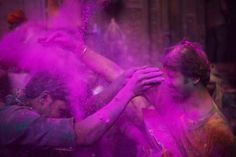 11 Colorful Photos of the Holi Festival in India: Purple Haze of Color