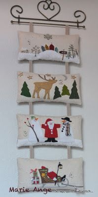Scrap,quilt and stitch Christmas Patchwork, Christmas Cushions, Christmas Applique, Christmas Sewing, Christmas Crafts For Gifts, Christmas Decorations, Felt Ornaments, Christmas Ornaments, Japanese Quilts