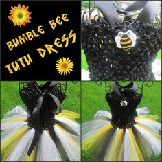 Bumble Bee TuTu Dress