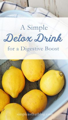 This daily detox drink will help your body cleanse naturally every single day, no starvation necessary.