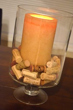 DIY: Wine Corks Project #1