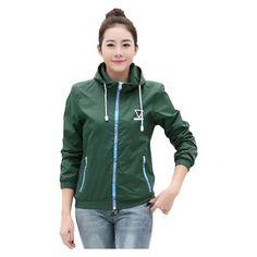 Jacket Women Windbreaker 2017 Spring Women's Jacket Coat Hooded Female Jacket Fashion sold Thin basic jacket For Women outerwear - Jessikas Tops