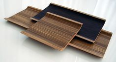 beautiful wooden trays