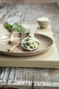 : Onion & Leek Risotto