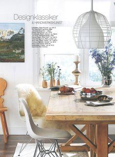 PLANK - Tisch aus Pinienholz