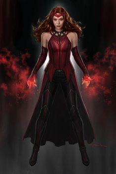 Marvel Comics, Marvel Comic Universe, Marvel Fan, Marvel Cinematic Universe, Marvel Avengers, Scarlet Witch Costume, Scarlet Witch Marvel, Wanda Marvel, Best Avenger