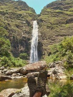 Cachoeira Casca D'anta, Serra da Canastra, Minas Gerais - MG