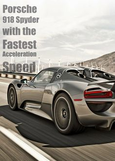Porsche 918 Spyder is one beast of a supercar. Find out more. #supercars