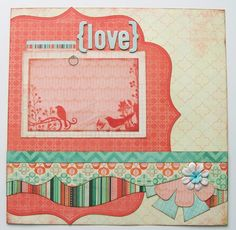 Love+Premade+1+Page+12x12+Scrapbook+Layout+by+GLOwormpaperdesigns,+$8.95