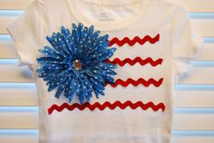 4th of July DIY t-shirt ideas | A Piece of Life's Pie