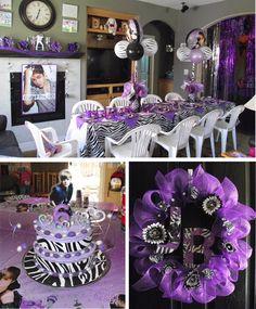 Justin Bieber Birthday Party